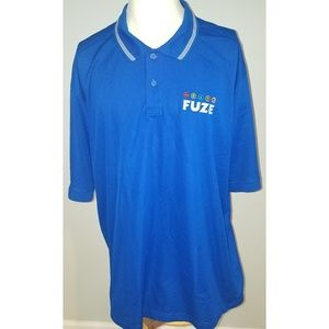 Fuze Drink Adidas Climalite Embroidered Polo (XXL)